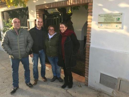 Volterra visita a Global Nature en Monfragüe