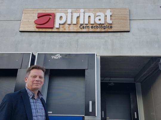 Promocionando carne ecológica y 100% de pasto con nuestros amigos de Pirinat