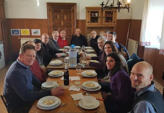 Visita a las fincas de Manuel Die en Elvas