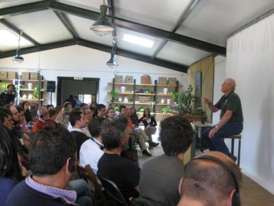 Masterclass de Joel Salatin en la Dehesa