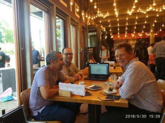 Reuniones y estudios de casos durante la Conferencia Euraf del 28 al 31 de mayo