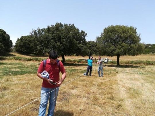 Puesta en marcha del sistema de pastero AMP en la granja de Cerdaña