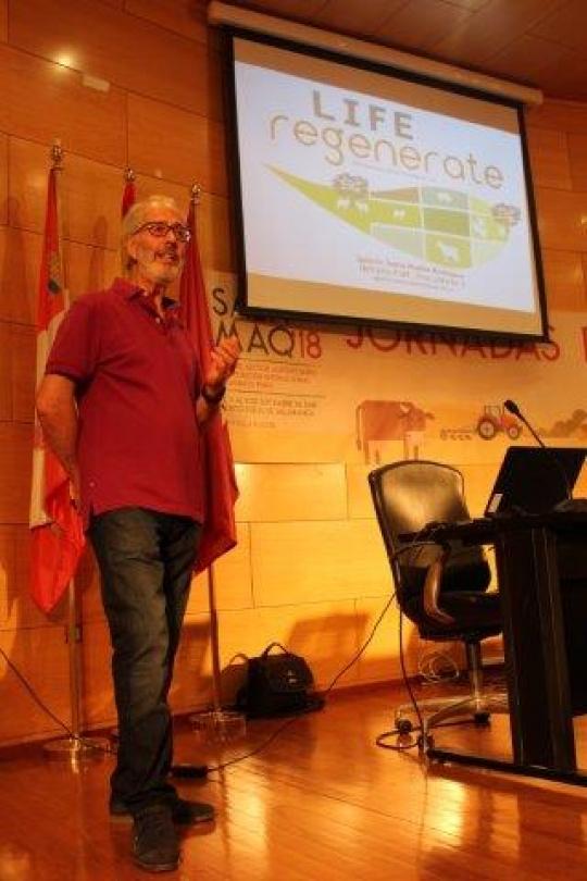 Presentación del proyecto en las jornadas Profesionales de Salamaq 2018