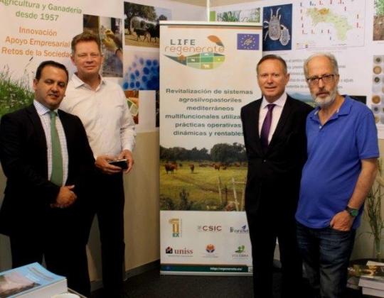 El proyecto Life Regenerate presente en la  Feria Agropecuaria de Salamanca 2018