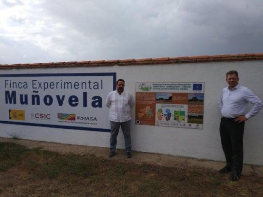 Visita técnica de Nutriprado a la finca Muñovela