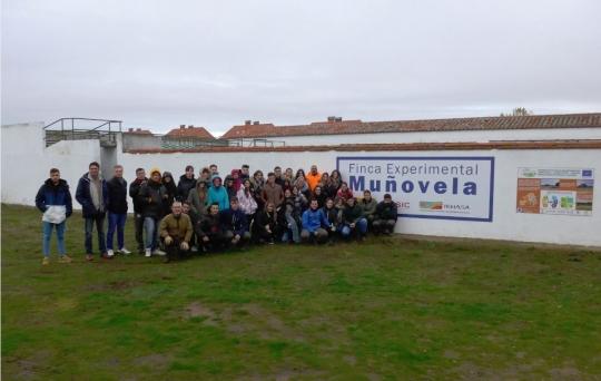Visita de Instituto de educación secundaria Galileo Galilei (Córdoba)