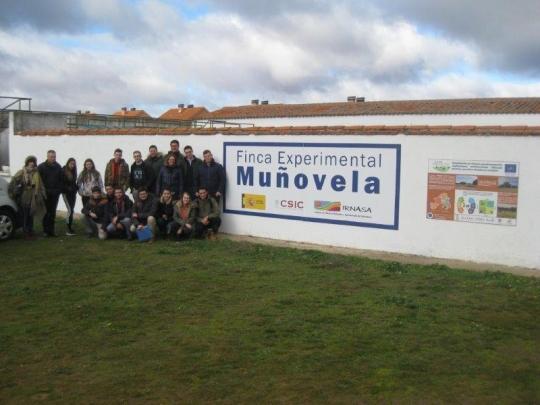 Estudiantes de Francia, Bélgica y España  conocen el proyecto Life Regenerate