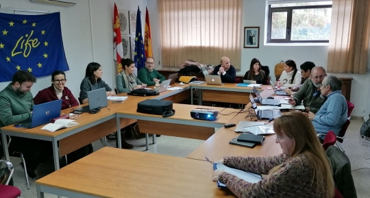 Reunión del Comité Directivo en Salamanca y jornada de #AgriculturaRegenerativa.