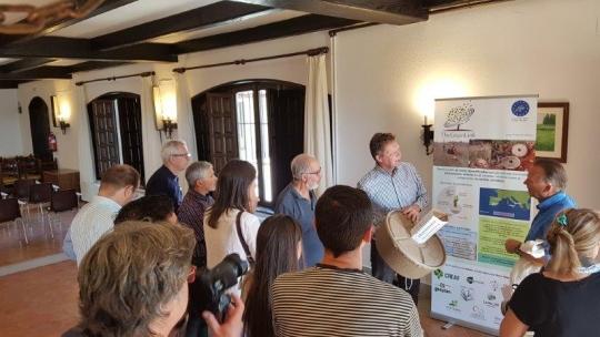 Volterra presenta el Cocoon al Diputado de Agricultura y Ganadería de la provincia de Salamanca