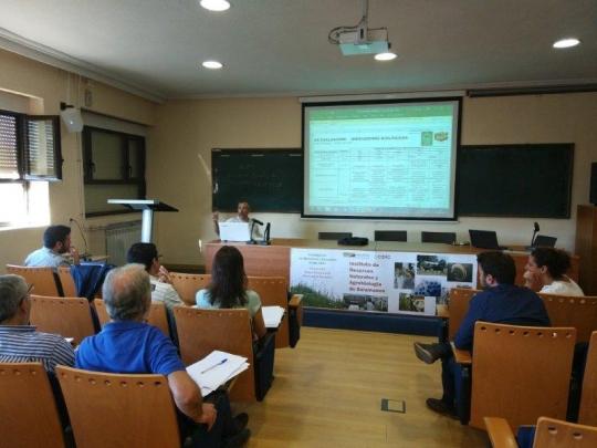 Primera reunión oficial del proyecto Regenerate en Salamanca