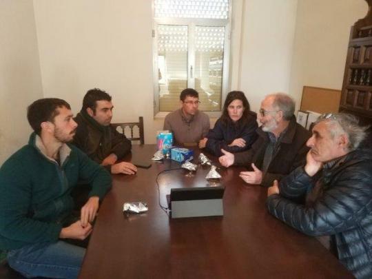 Reunión con IRNASA en Muñovela