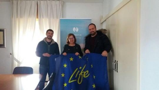 Reunión de  Volterra con la coordinadora del proyecto Ammonia Trapping para intercambiar ideas