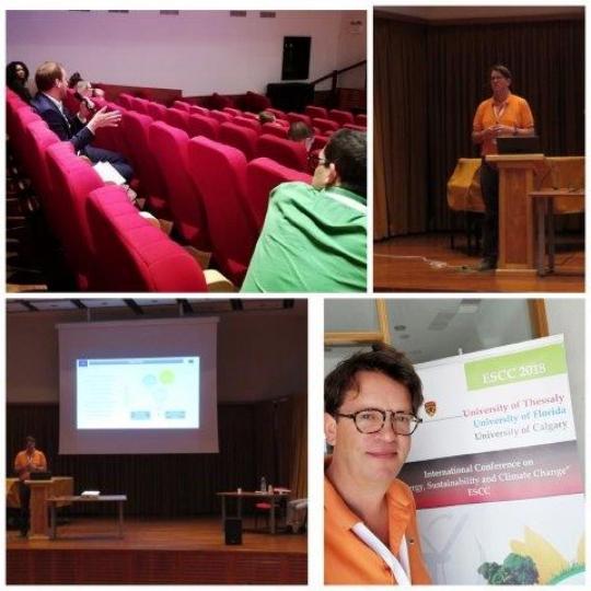 Presentación del proyecto en la conferencia internacional ESCC en Miconos