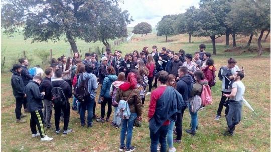 Estudiantes de Ambientales visitan la Finca Muñovela