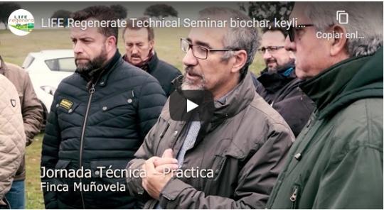 Seminario técnico biochar, keyline y producción de setas